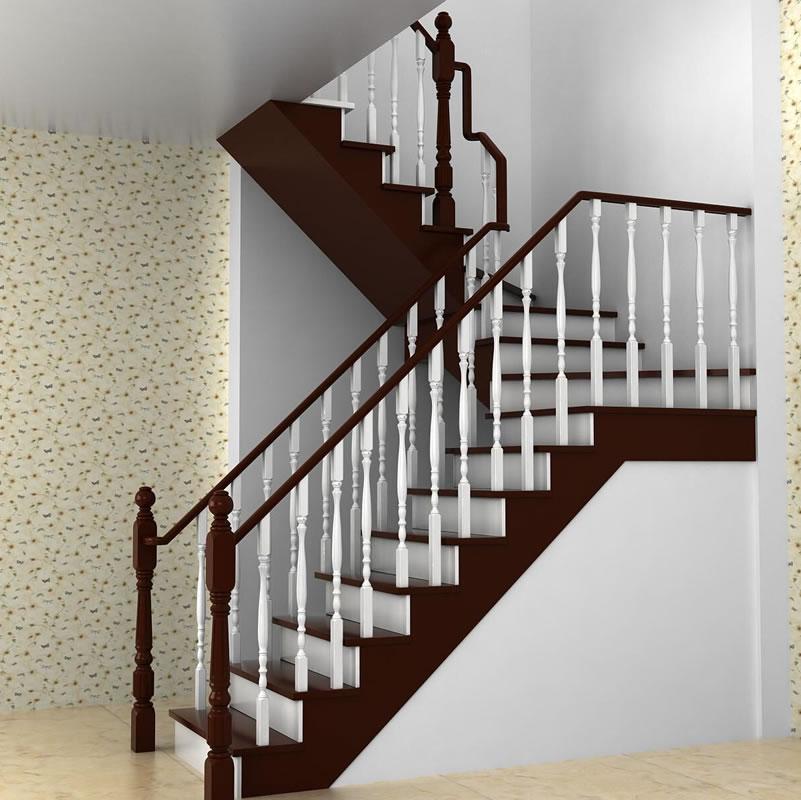实木楼梯025